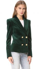 Velvet Blazer by Pierre Balmain  at Shopbop