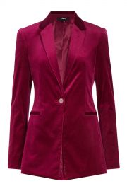 Velvet Blazer by Theory at Stylebop