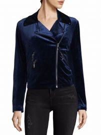 Velvet Moto Jacket by Bagatelle at Saks Off 5th