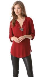 Velvet Rosie Luxe Challis Tunic at Shopbop