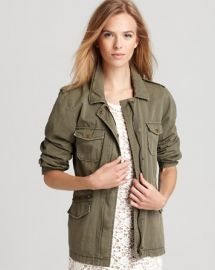 Velvet by Graham andamp Spencer Jacket - Army at Bloomingdales