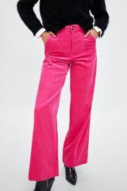 Velveteen Pants by Zara at Zara
