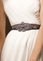 Vera Wang Crystal Sash at David's Bridal