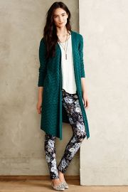 Vergennes Chevron Cardigan at Anthropologie