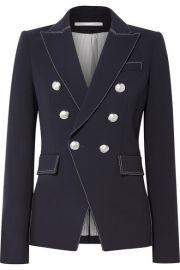 Veronica Beard   Miller crepe blazer at Net A Porter