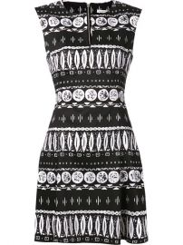 Veronica Beard Aztec Print Dress - Hus Wear at Farfetch