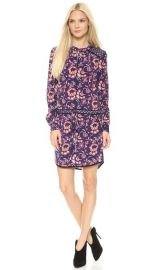 Veronica Beard Floral Batik Print Keyhole Shirtdress at Shopbop