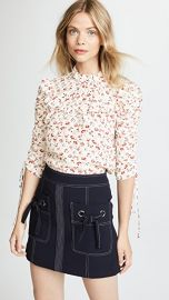 Veronica Beard Howell Blouse at Shopbop
