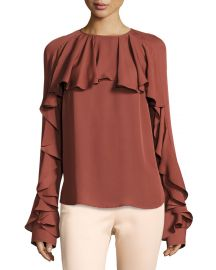 Veronica Beard Mia top at Bergdorf Goodman