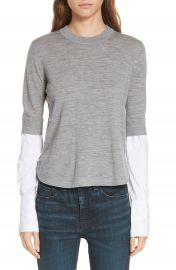 Veronica Beard Roscoe Layered Sweater at Nordstrom