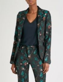 Very Jungle Jacquard Blazer at Selfridges