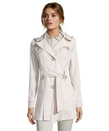 Via Spiga Cotton Trench Coat at Bluefly