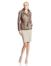 Via Spiga Quilted Coat at Amazon