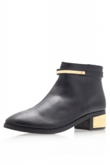 Vice Block Heel Ankle Boots at Topshop