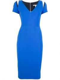 Victoria Beckham Fitted Pencil Dress - at Farfetch