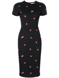 Victoria Beckham Floral Embellished Dress  1 816 - Buy SS18 Online - Fast Global Delivery  Price at Farfetch