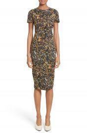 Victoria Beckham Marble Jacquard Dress at Nordstrom