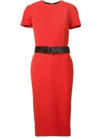 Victoria Beckham Short Sleeve Belted Dress - August Pfand252ller at Farfetch