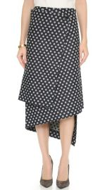 Victoria Beckham Wrap Skirt at Shopbop