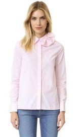 Victoria Victoria Beckham Single Bow Shirt at Shopbop