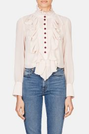 Victorian Button Blouse by See by Chloe at Orchard Mile