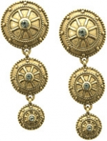 Victorias circular earrings at Lord & Taylor