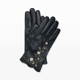 Vidita Embroidered Glove at Club Monaco