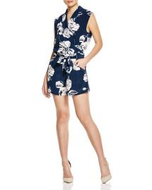 Viktoria and Woods October Floral Print Romper at Bloomingdales