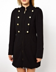 Vila Military Coat at Asos