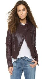 Vince Asymmetric Leather Jacket at Shopbop