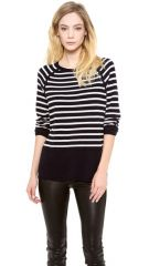 Vince Breton Stripe Cashmere Sweater at Shopbop