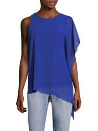 Vince Camuto - Asymmetric Chiffon Blouse at Saks Off 5th
