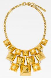 Vince Camuto  Clearview  Pyramid Statement Necklace at Nordstrom