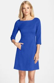 Vince Camuto Crepe A-Line Dress  Regular   Petite at Nordstrom