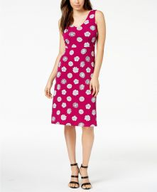 Vince Camuto Crisscross-Back A-Line Dress at Macys