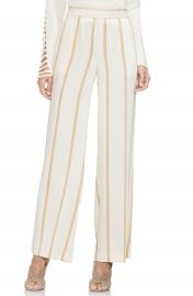 Vince Camuto Dramatic Stripe Pull-On Pants  Regular  amp  Petite    Nordstrom at Nordstrom