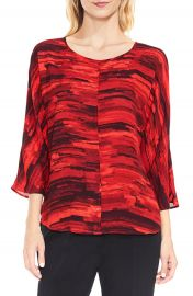 Vince Camuto Muses Print Dolman Sleeve Blouse at Nordstrom