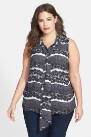 Vince Camuto Plus Size Blouse at Nordstrom Rack