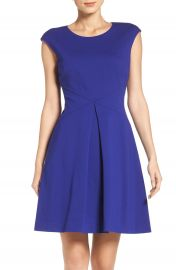 Vince Camuto Ponte Fit   Flare Dress  Regular   Petite at Nordstrom