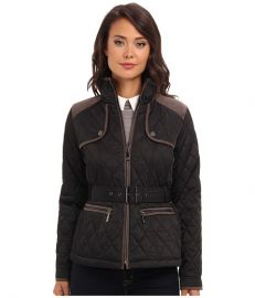 Vince Camuto Transitional Quilted Jacket G8021 BlackSteel at 6pm
