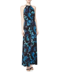 Vince Camuto floral maxi dress at Last Call