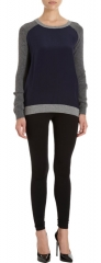Vince Color Block Sweater at Barneys