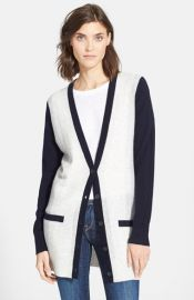 Vince Colorblock Cardigan at Nordstrom
