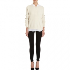 Vince Contrast Elbow Sweater at Barneys