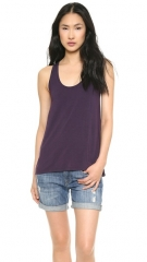 Vince Drape Hem Tank at Shopbop