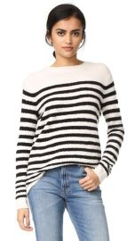 Vince Engineered Striped Pullover at Shopbop