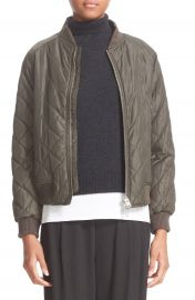 Vince Quilted Bomber Jacket at Nordstrom