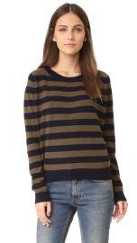 Vince Regiment Stripe Sweater at Shopbop
