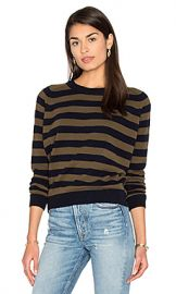 Vince Regiment Stripe Sweater in Coastal  amp  Rifle from Revolve com at Revolve