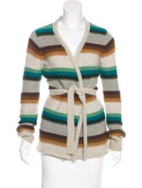 Vince Striped Cardigan at The Real Real